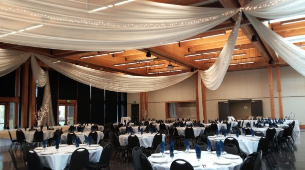 Ceiling Draping Encore Events
